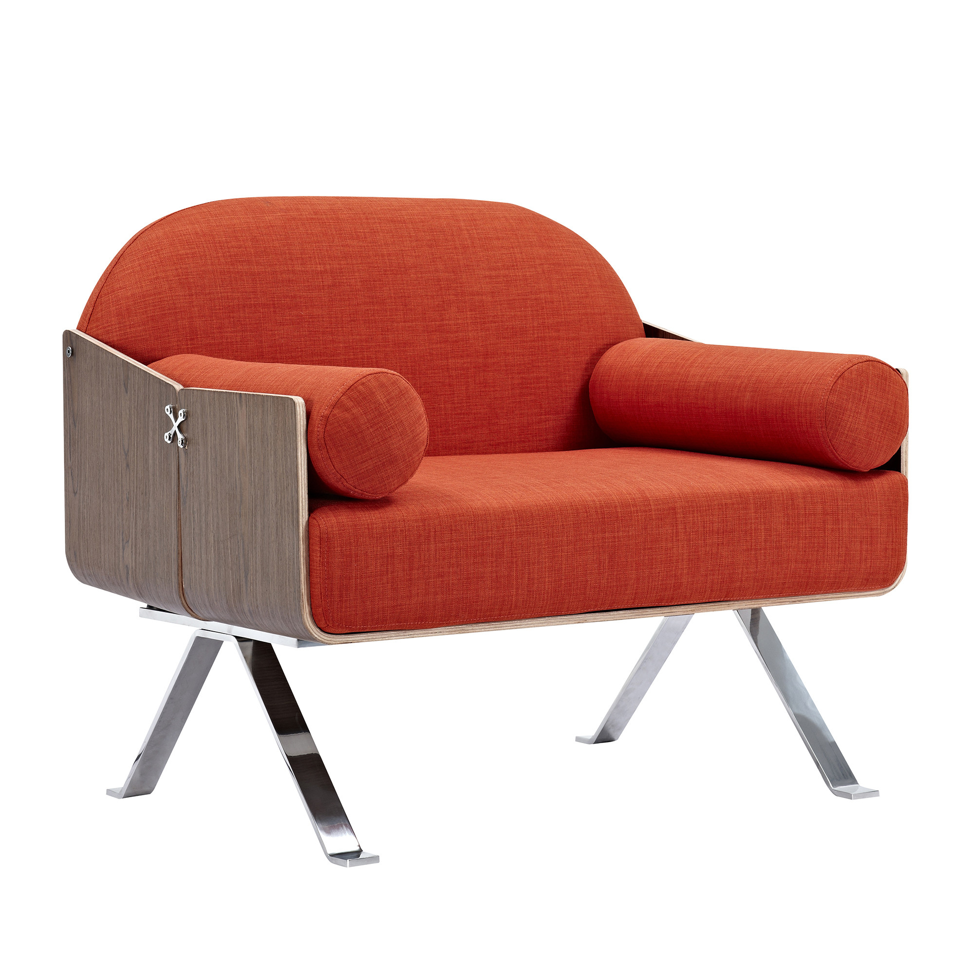 Jorn Red Chair - Natural