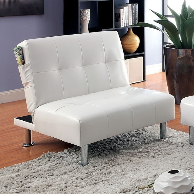 Bulle Contemporary Chair, White