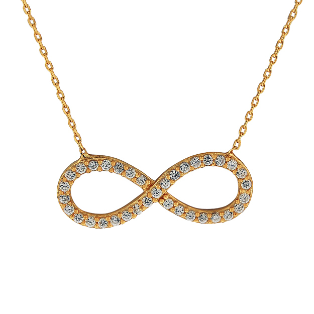 Sterling_Silver_Infinity_Gold_Tone_Necklace_with_Simulated_Diamonds