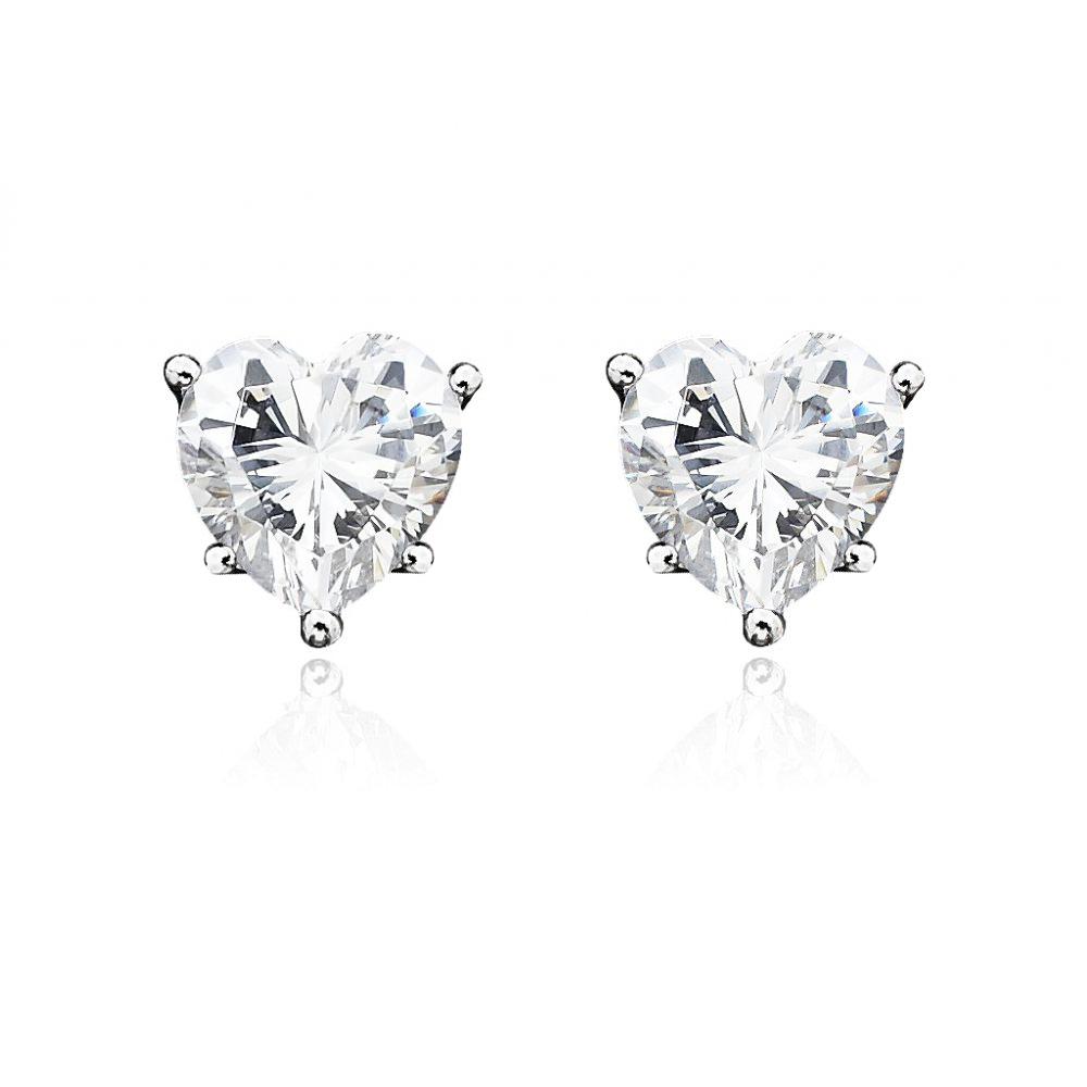 2ctw_Simulated_Diamond_Heart_Sterling_Silver_Stud_Earrings