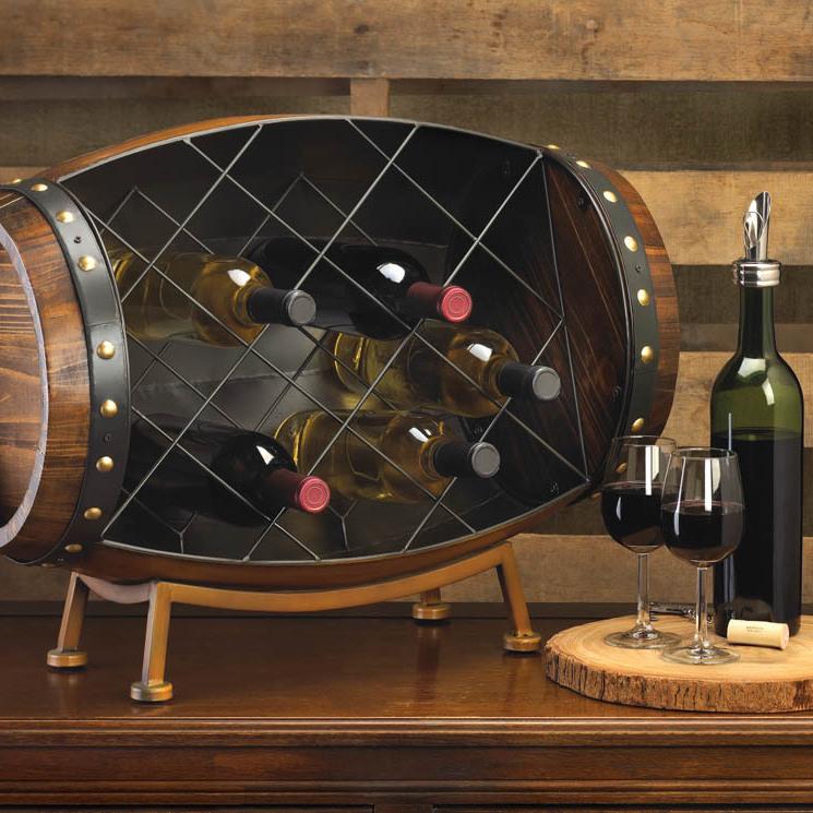 #10015494 Cask Wine Bottle Rack