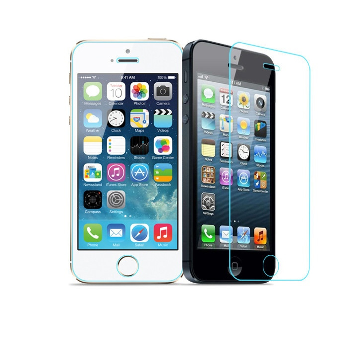 iPhone 4 /4s & 5/5s /5c Glass Screen Protector - iPhone 4 /4S 544419794c3d6f1b1600069a