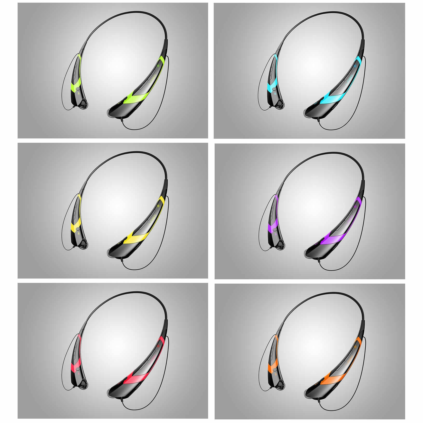 Music & Sound Collar headphones with Magnetic Ear Buds 549ddf214f3d6ff139000269
