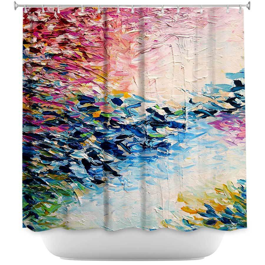 Shower Curtains - DiaNoche Designs - Above the Clouds