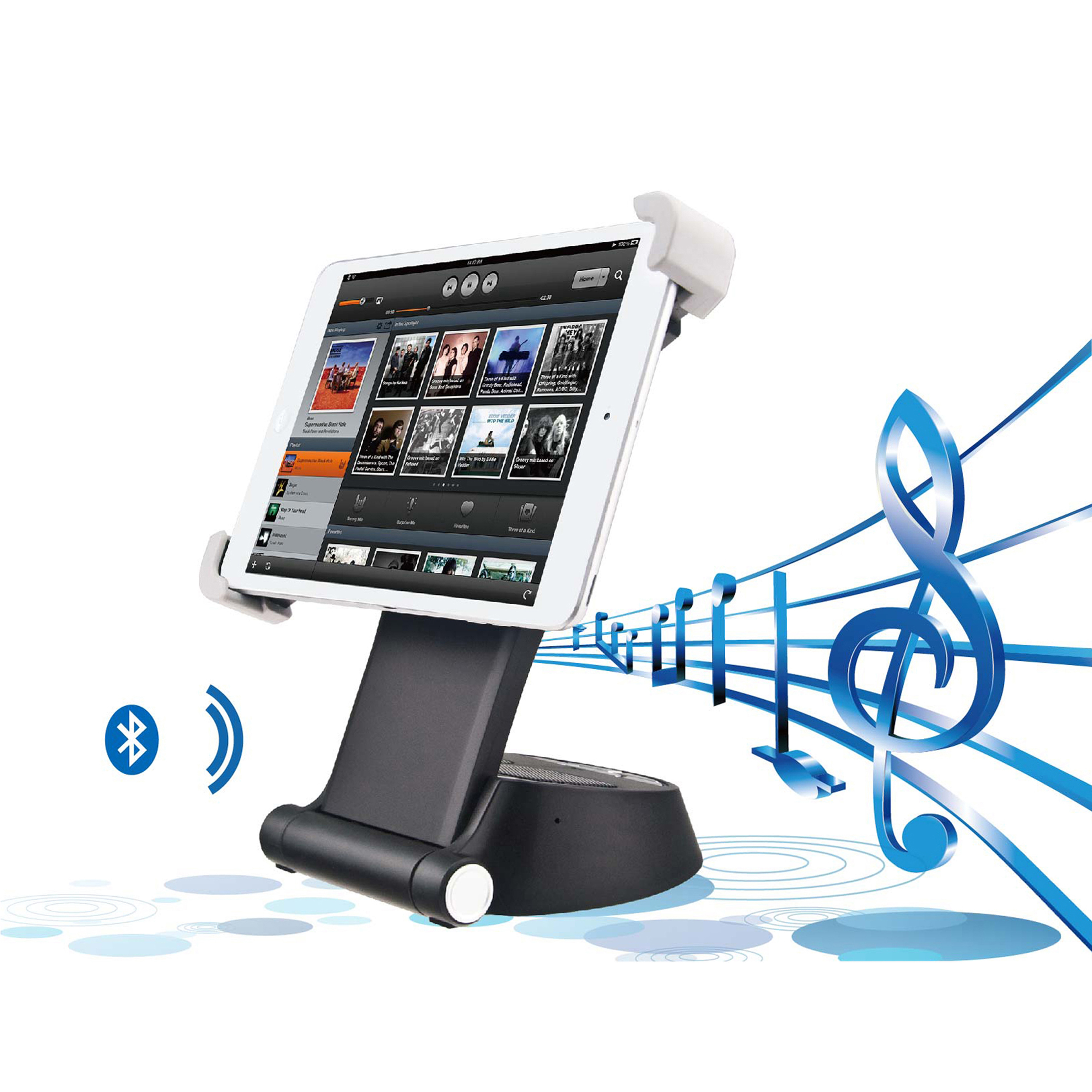 SmartHub Speaker and Stand For Your Smart Gadgets 558ae65c683d6f2e7a8b5f8c