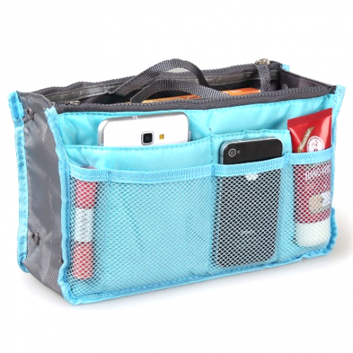 Collapsible Purse Organizer (MB01-GR) photo