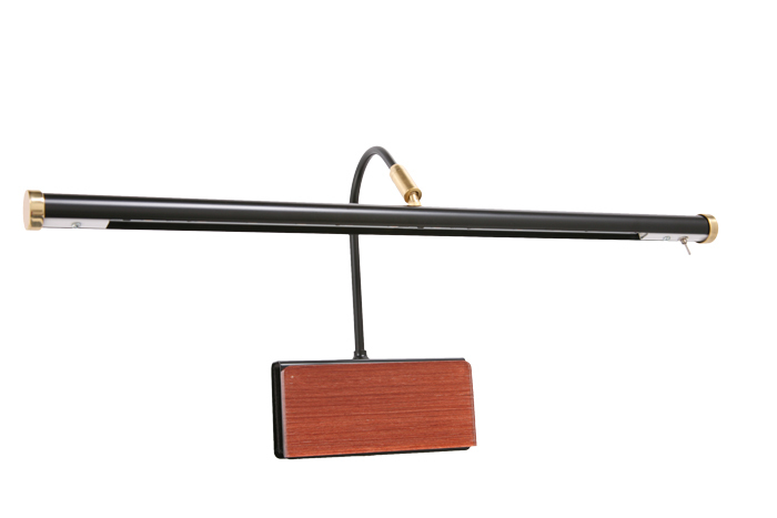 Cocoweb Led Grand Piano Lamp Wood Plated Adjustable