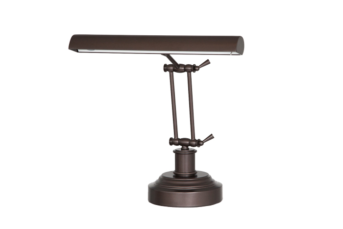 "14"" LED Piano Desk Lamp - Mahogany Bronze"