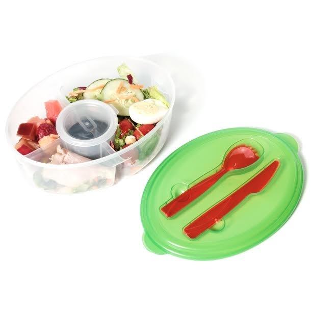 Fresh Salad On The Go Container 563d1d3c4e3d6f22328b470d