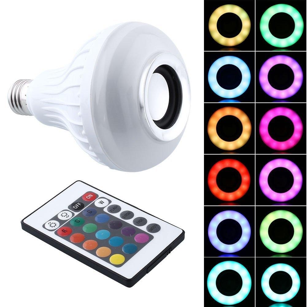 RGB LED Speaker Bulb 569d48dc4a3d6f085a8b4eb0