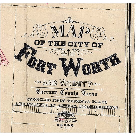 """Old Texas Fort Worth wall Map Vintage Historical map Antique Restoration Hardware Style Map of Fort Worth Texas state Map Texas Map - 11\"""" x 17\"""" inches [$14.00]"""