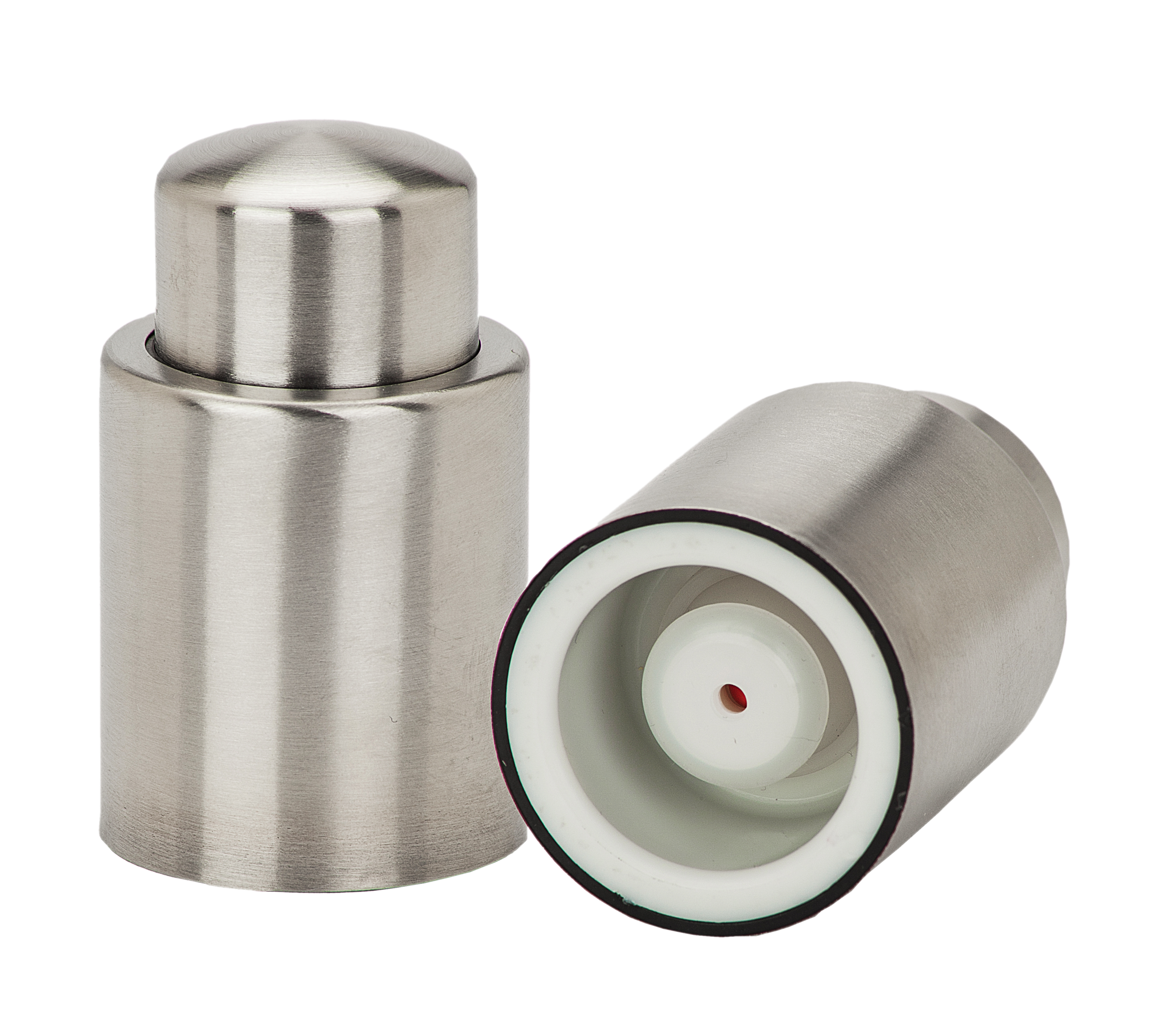 Stainless Steel Vacuum Wine Stopper and Sealer 5716525d693d6f25158b457c
