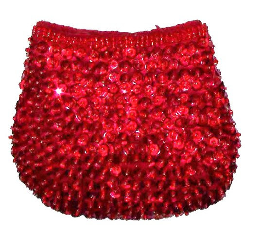 Sequin Coin Purse RED # SP19 (SEQUINW-6024) photo