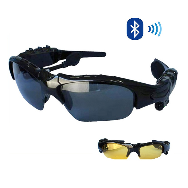 Day and Night Sunglasses with Bluetooth headphone and handsfree talk 577d615ccd5c866c8e51a906