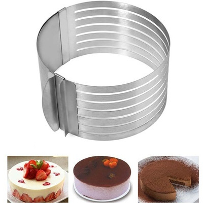 Retractable Stainless Steel Circle Cake Slicer Mold Cut Tools 57c8eb4f3474d766157c678f
