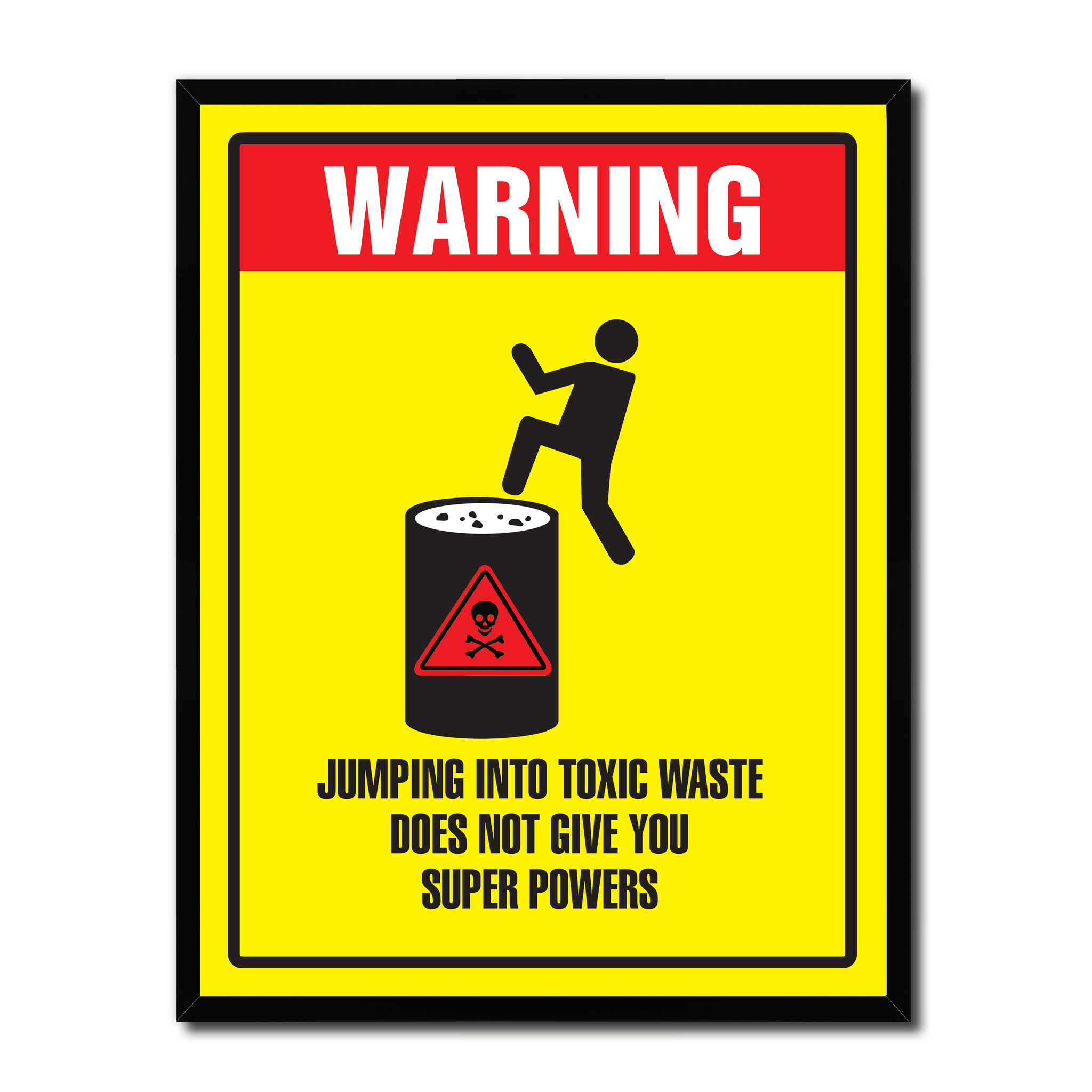 toxic waste sign - HD2048×2048