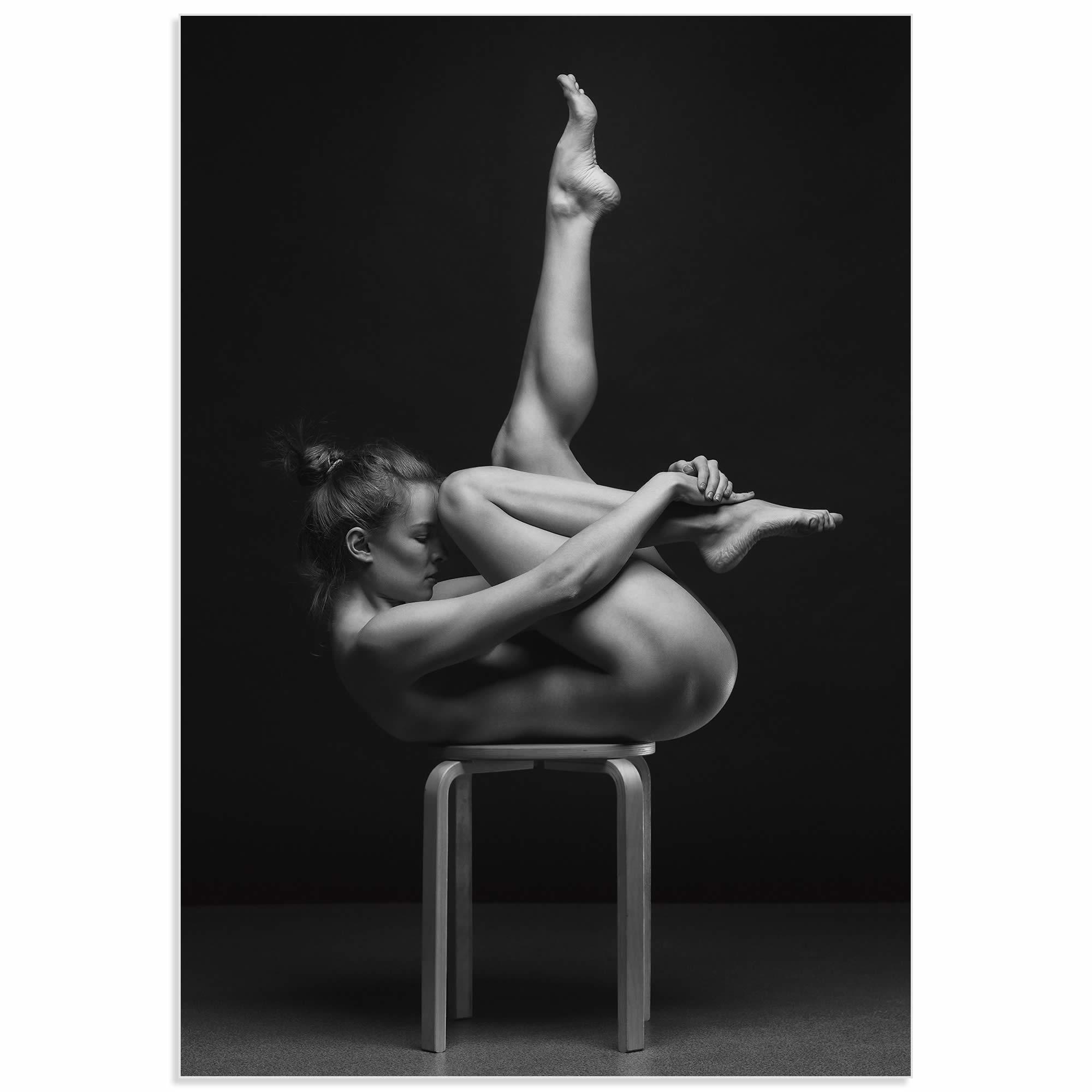 Emerging by Anton Belovodchenko - Abstract Nude Art on Acrylic 581b4890e2246111ce63aaae