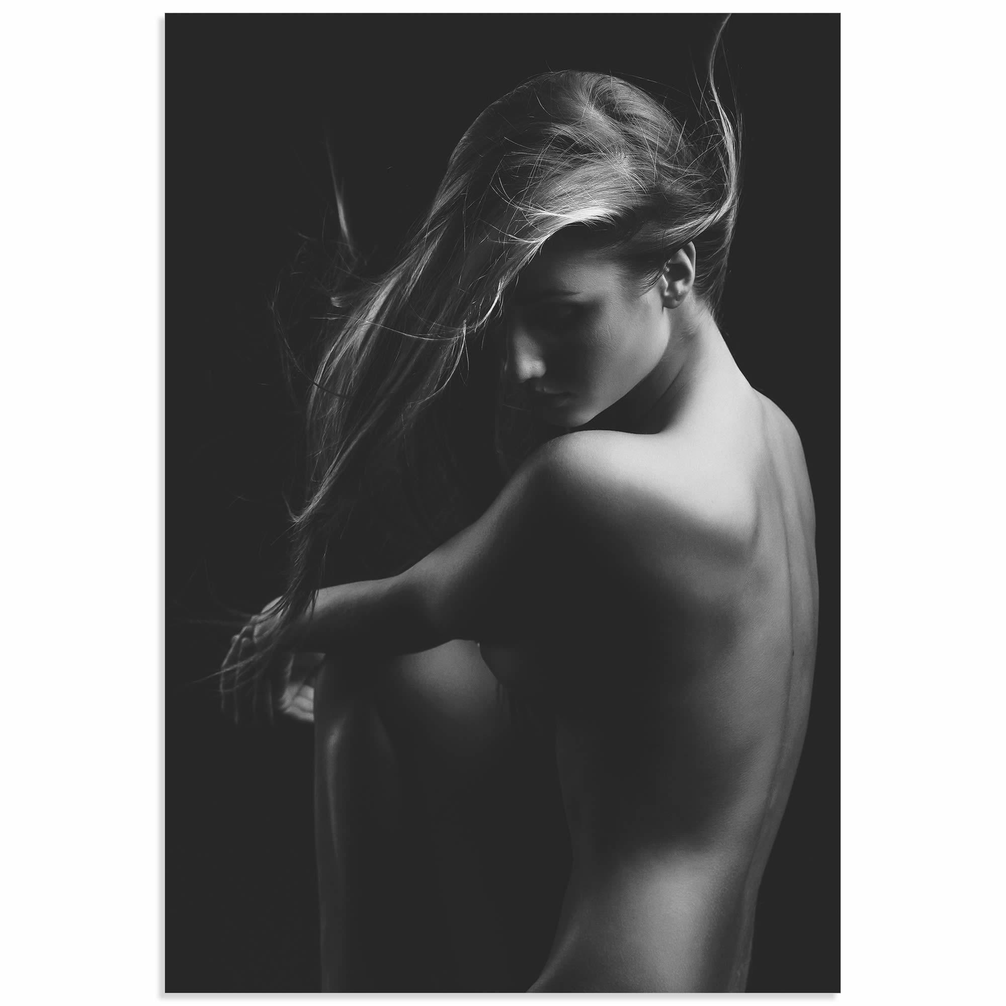 Sensual Beauty by Martin Krystynek - Model Photography on Metal 581b4897e2246111cf2ca191