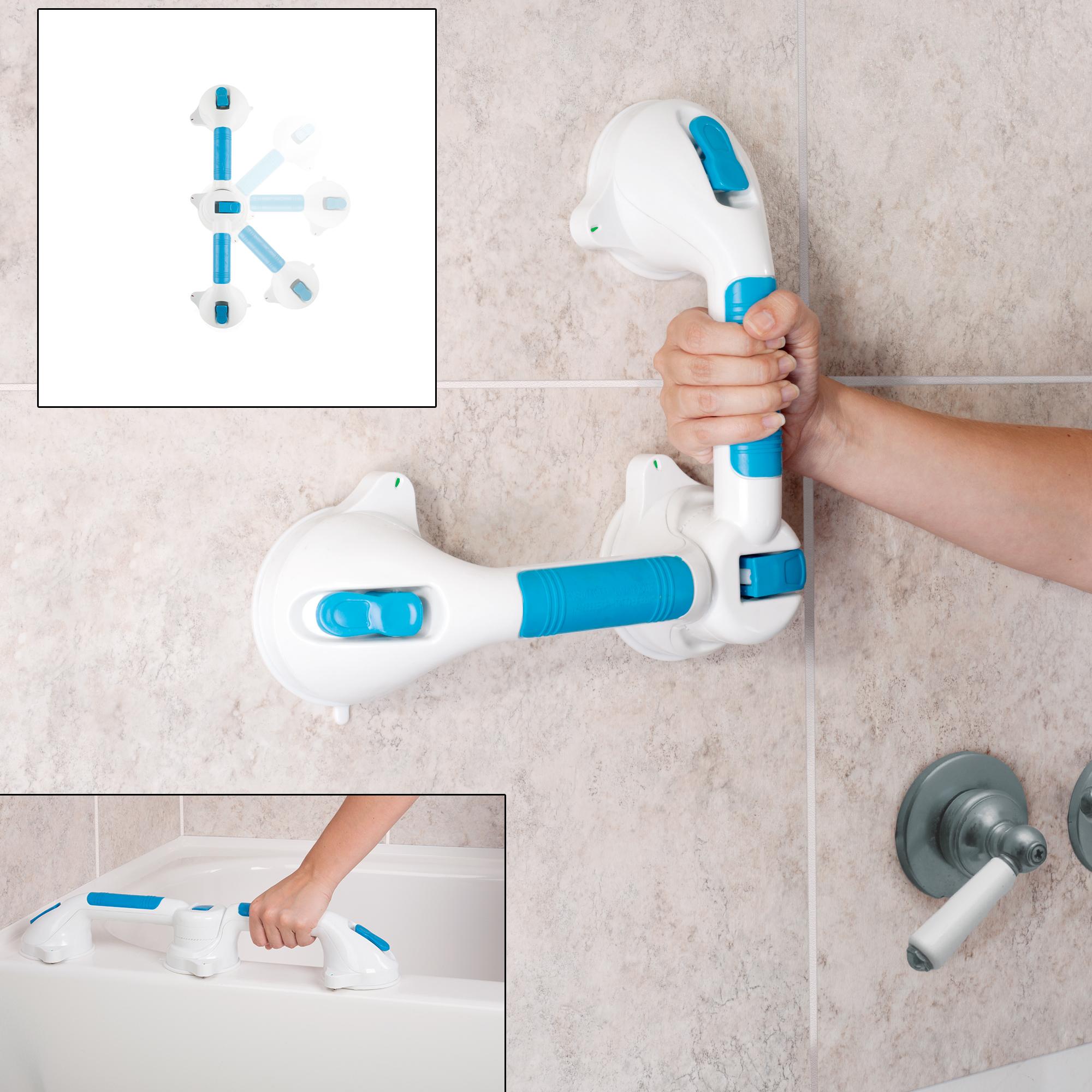 Bluestone Dual Grip Suction Grab Bar 582e0f15e22461457a306622