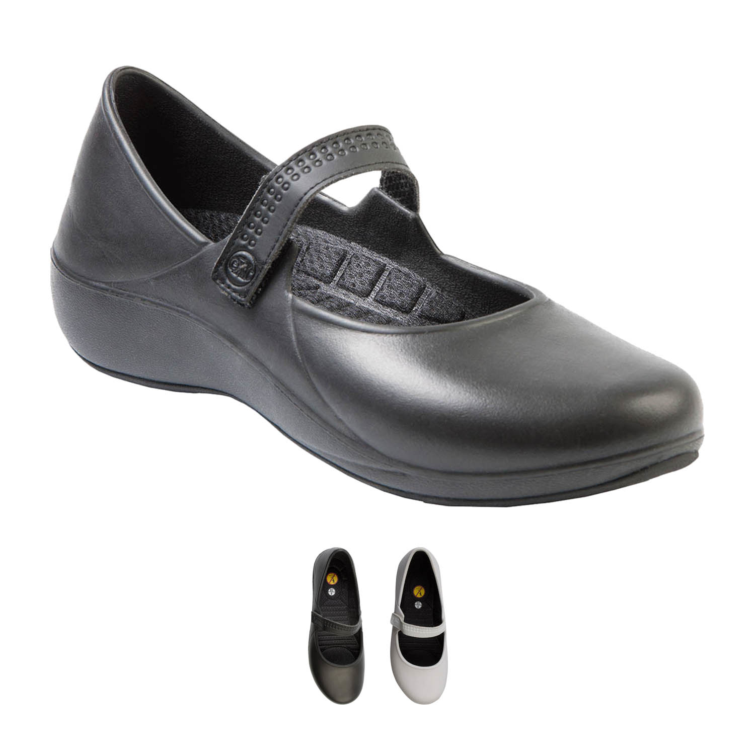 Women's Extreme Mary Jane Work Shoes - black, 6 5881020a2a00e425280d5836