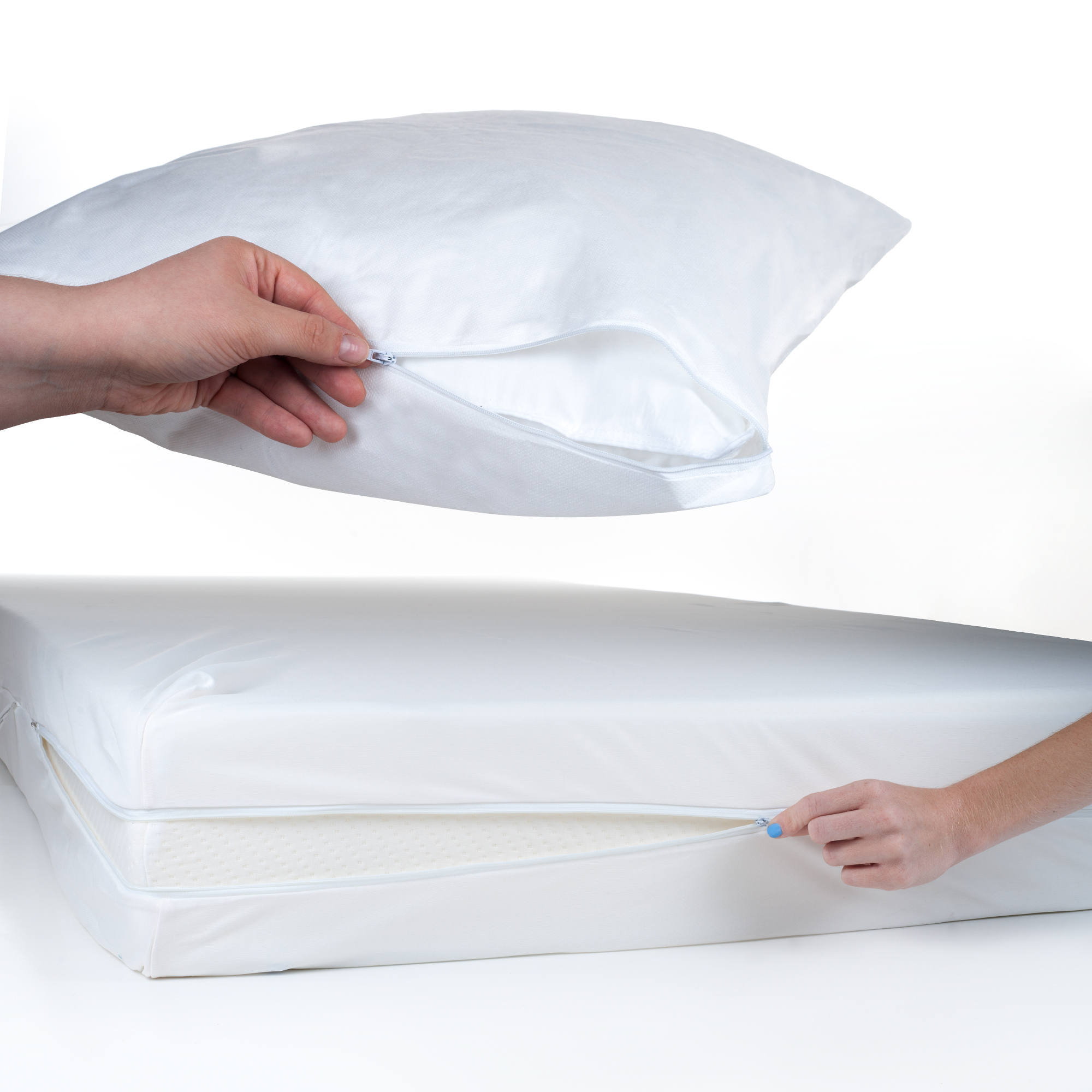 Everyday Home TXL Bed Bug & Dust Mite Mattress & Pillow Protector Set