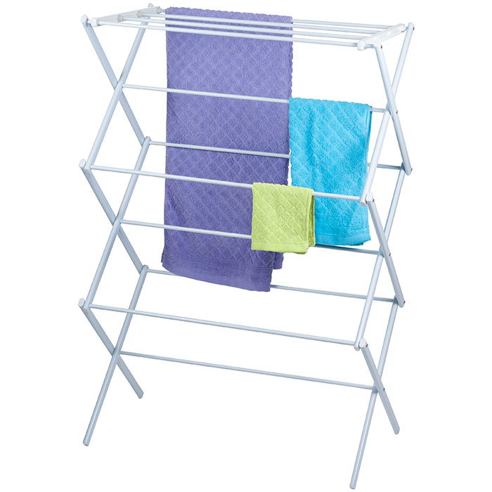 Lavish Home 3-Tier Clothes Laundry Drying Rack 588a2d35c98fc446c9281abd