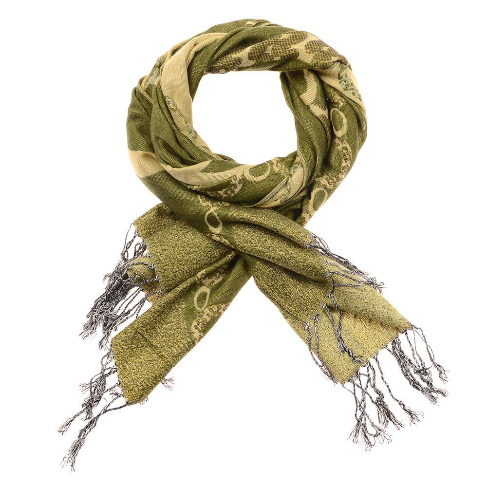 Fashion Women's Silk Scarf Pashmina Shawl Wrap - Green 5891793678280038254d26dc