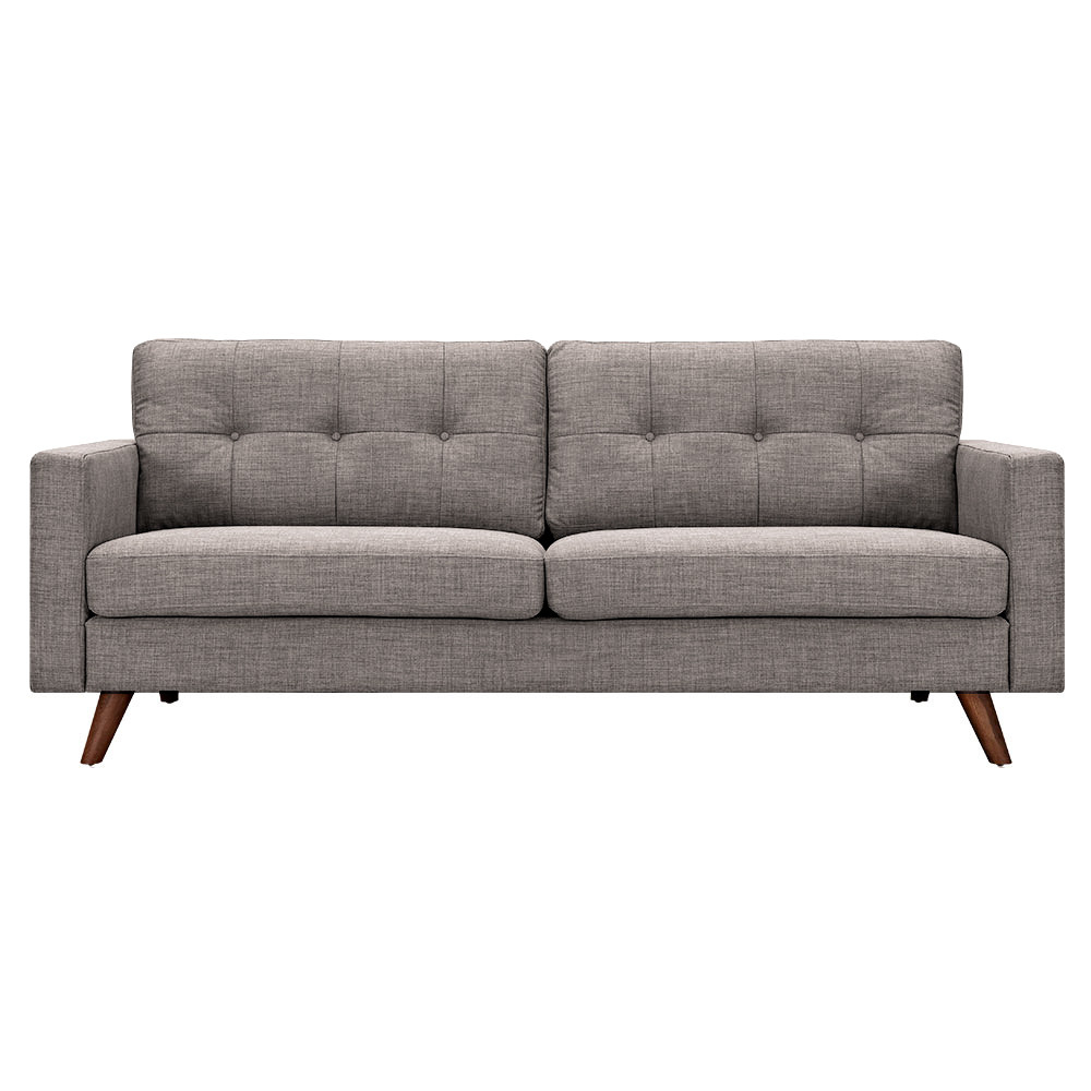 Uma Sofa Walnut Aluminium 7599 Product Photo