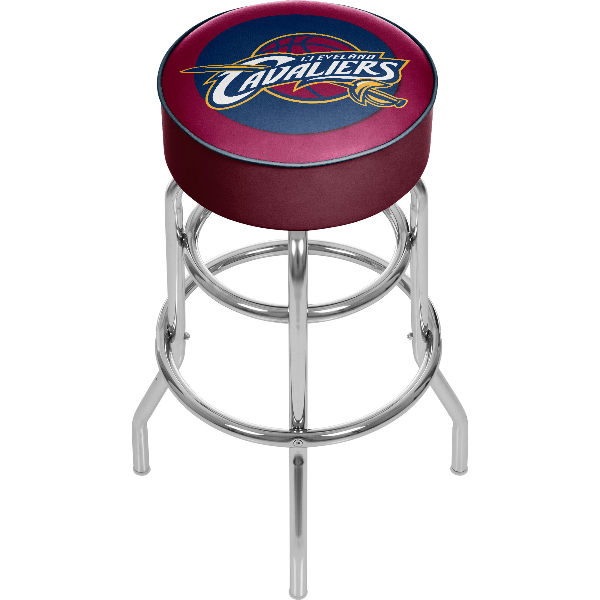Cleveland Cavaliers NBA Padded Swivel Bar Stool 30 Inches High