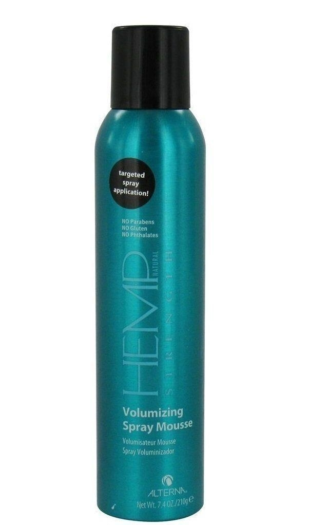Alterna Hemp Natural Strength Volumizing Spray Mousse 7.4 oz by Alterna