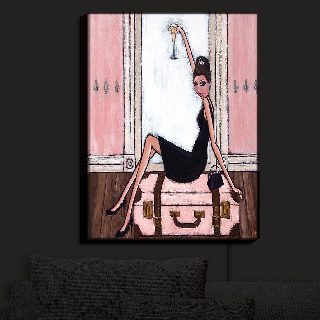 DiaNoche_Designs_Illuminated_Wall_Art_Nightlight_Bonjour_Denise__11_x