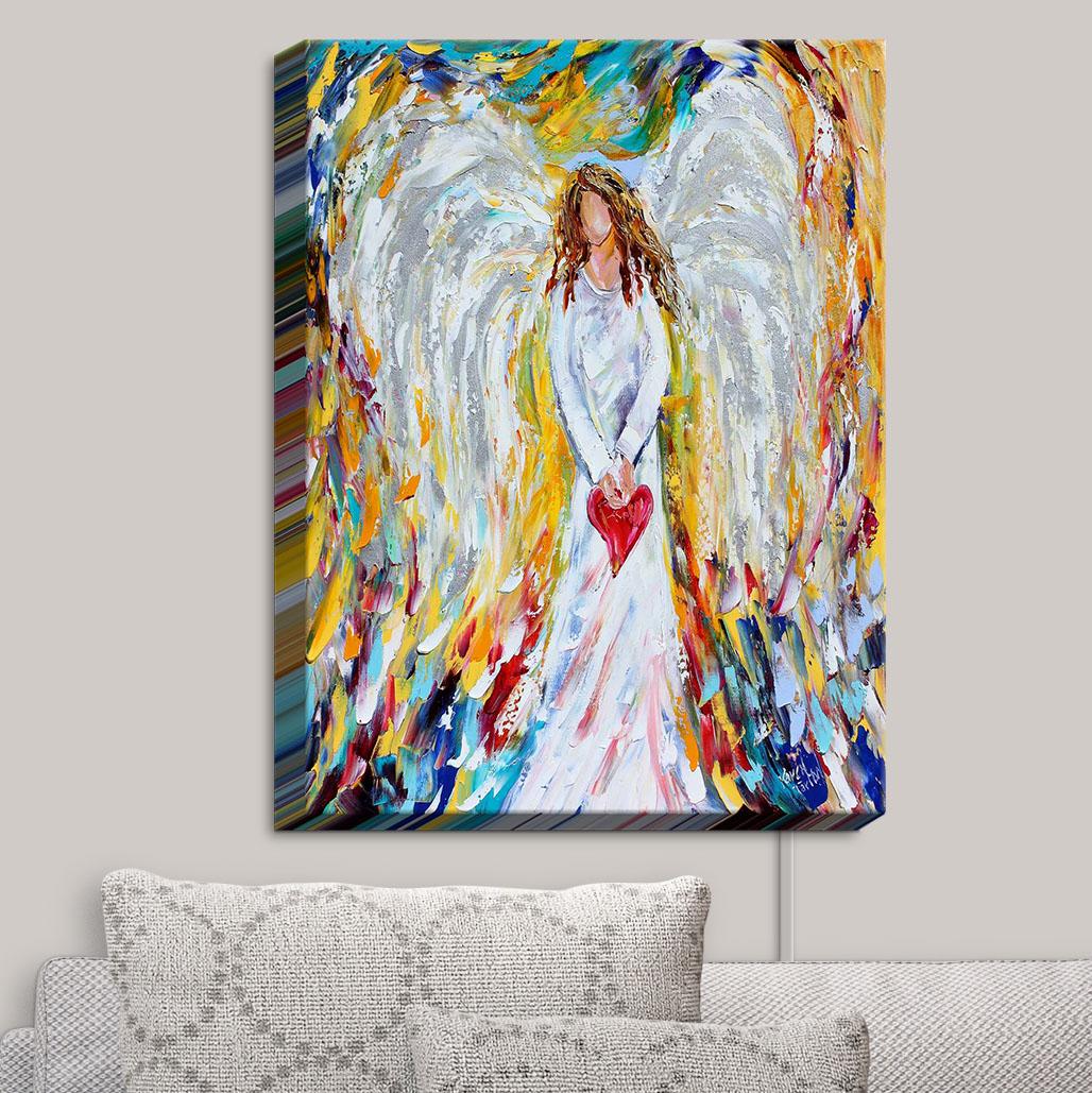 Canvas_Wall_Art_by_DiaNoche_Designs_Angel_of_My_Heart__Karen_Tarlton