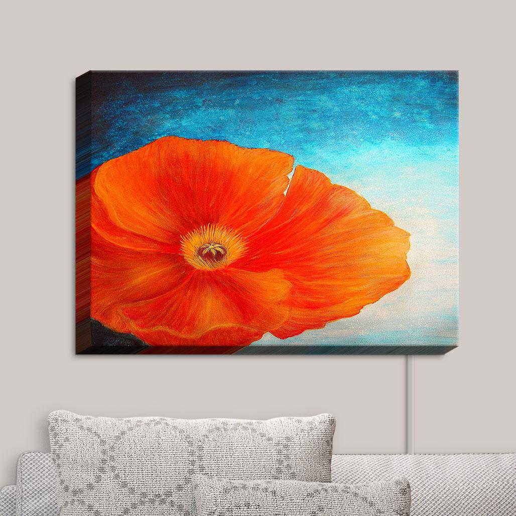 Canvas_Wall_Art_by_DiaNoche_Designs_Poppy__Tara_V