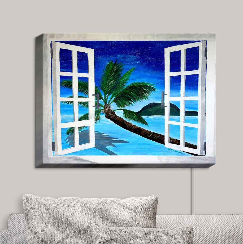 Canvas_Wall_Art_by_DiaNoche_Designs_Window_to_Paradise__Markus_Bleich