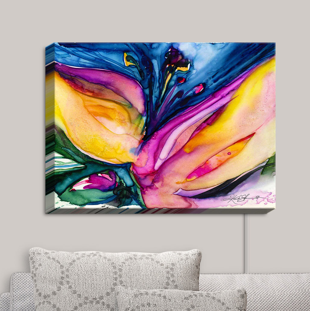 Canvas_Wall_Art_by_DiaNoche_Designs_Soul_Flower_36__Kathy_Stanion