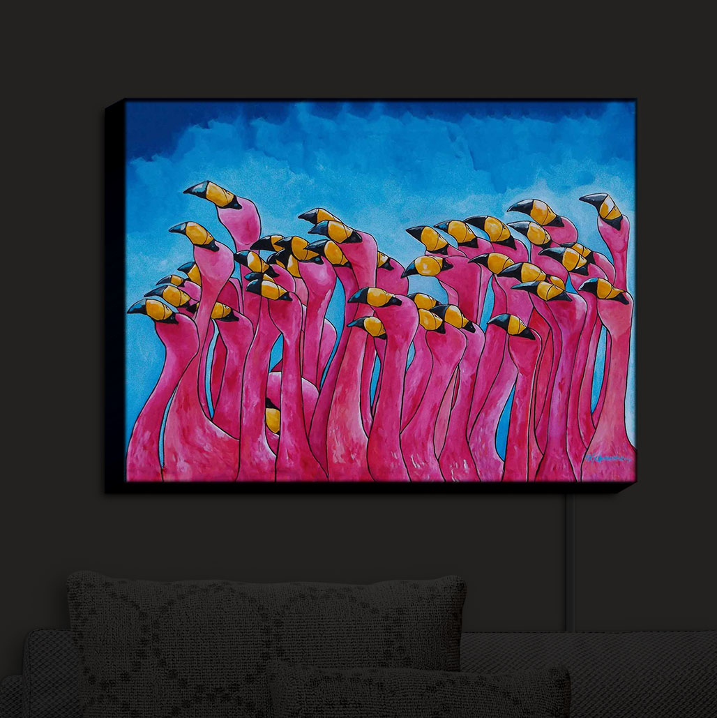 Illuminated_Wall_Art_by_DiaNoche_Designs_Peace_Love_and_Flamingos_Nightlight