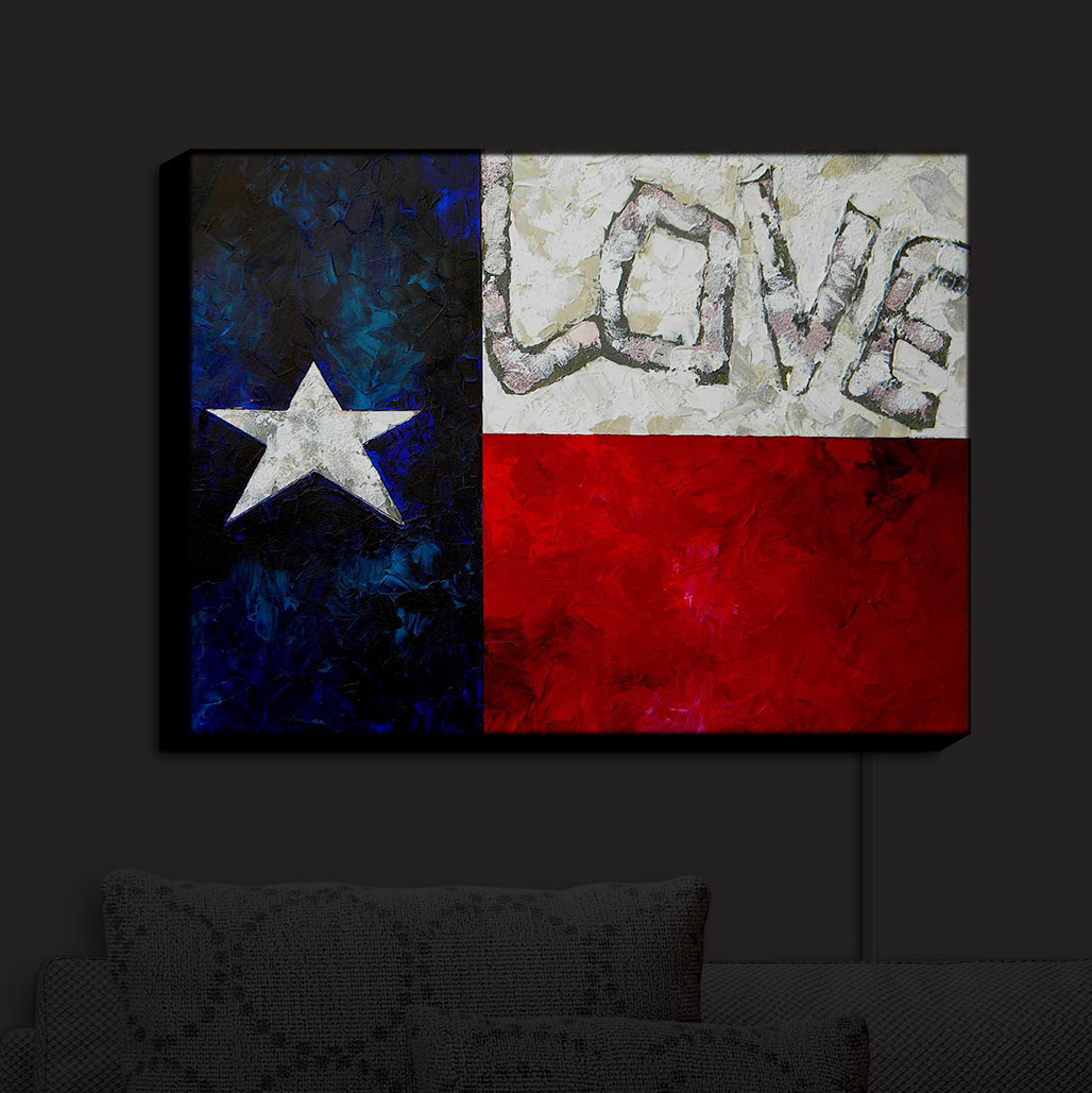 Illuminated_Wall_Art_by_DiaNoche_Designs_Love_for_Texas_Nightlight_Home
