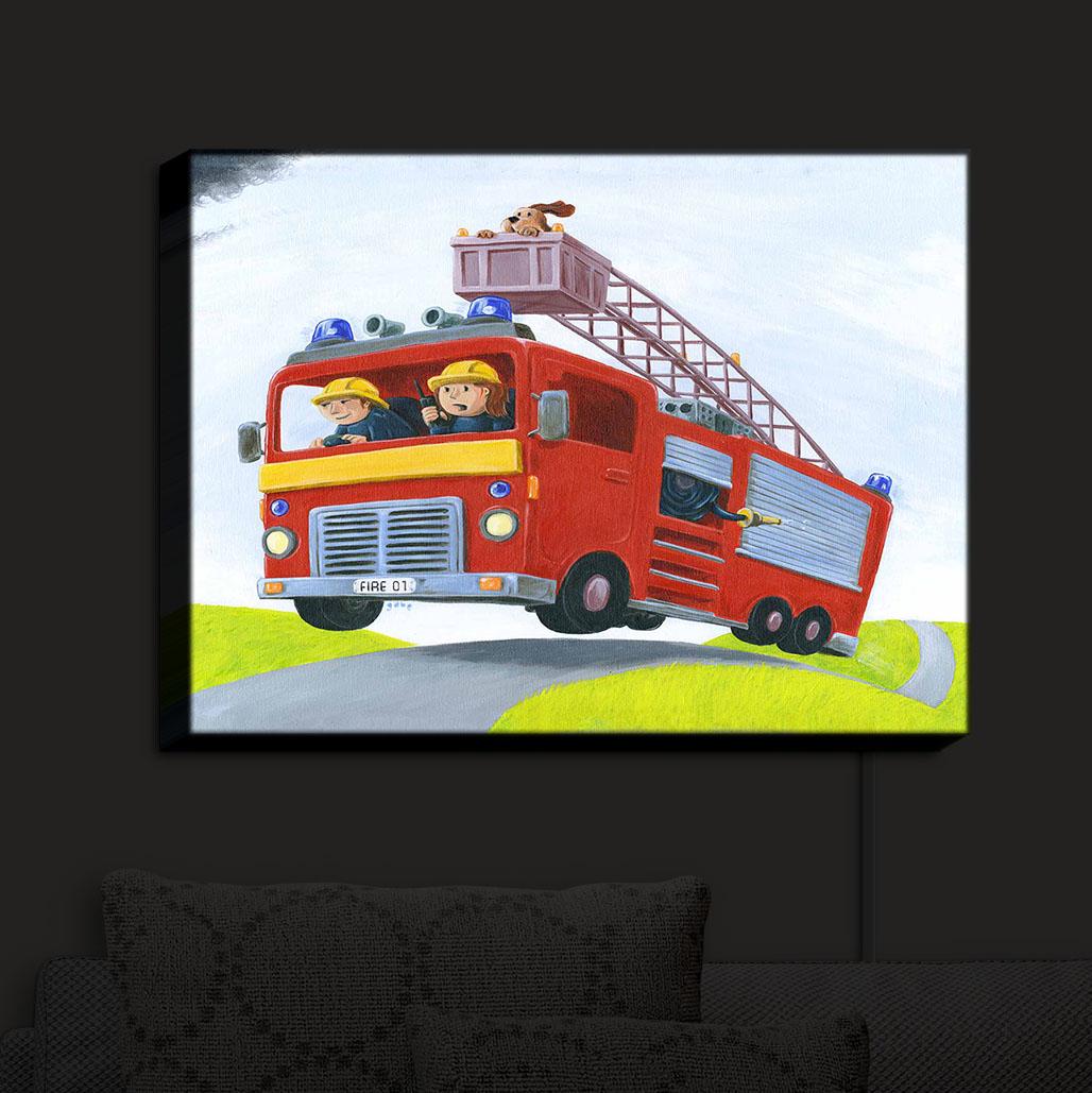 Illuminated_Wall_Art_by_DiaNoche_Designs_Fire_Truck_Nightlight_Home_Gabriel