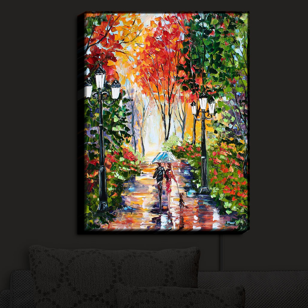 Illuminated_Wall_Art_by_DiaNoche_Designs_Nightlight_Home_Walking_the_Dog