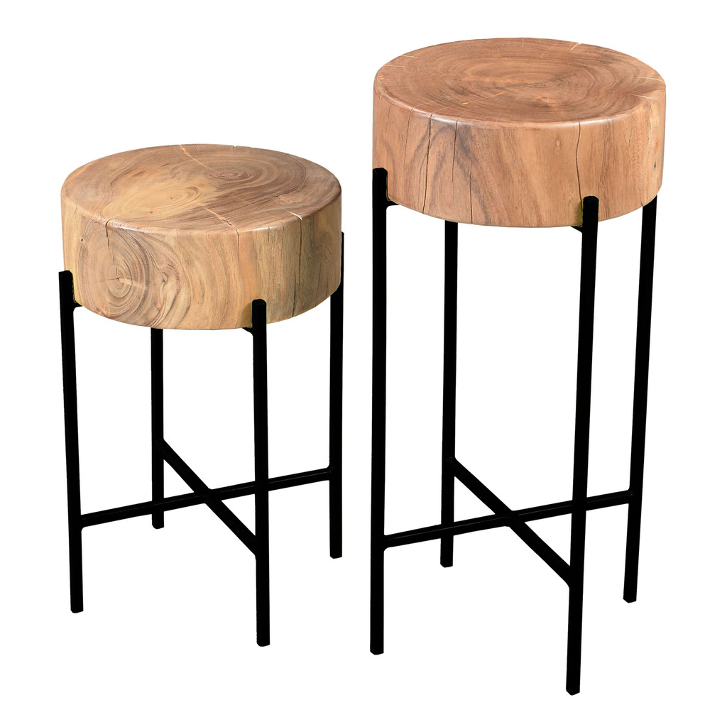 Bruno Accent Tables SET OF TWO 589a33592a00e42b3d21ef0c
