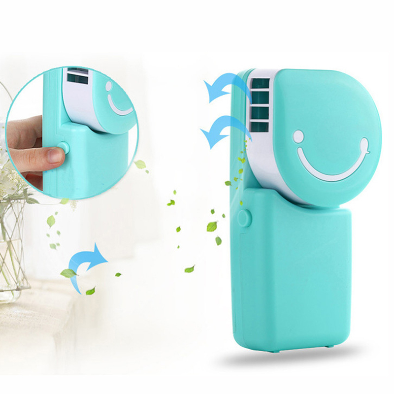 Hand Held Portable Air Conditioner in 3 Colors - Blue 58b65355469fe254a03116cc