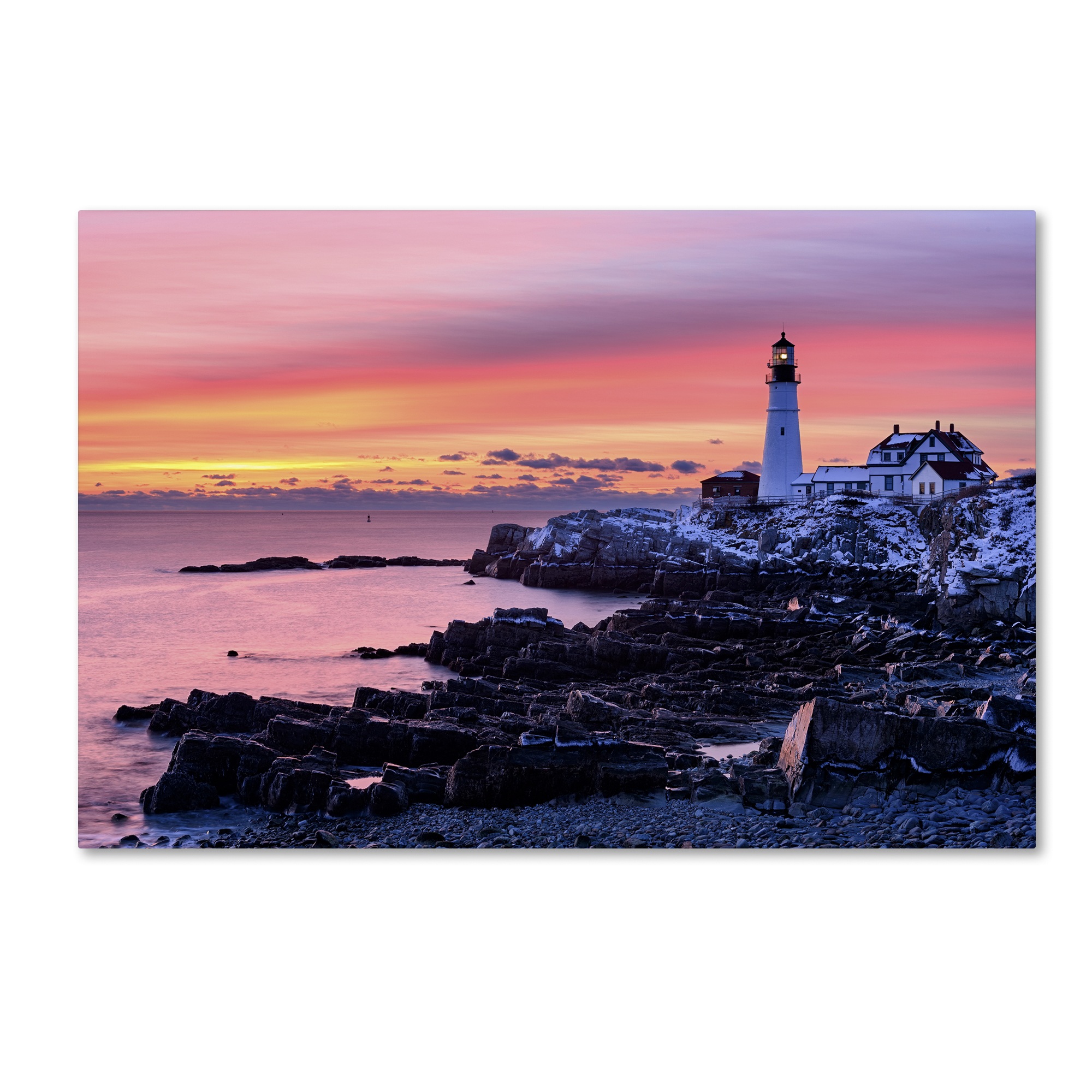 Michael Blanchette Photography 'Light of Dawn' Canvas Art 16 x 24