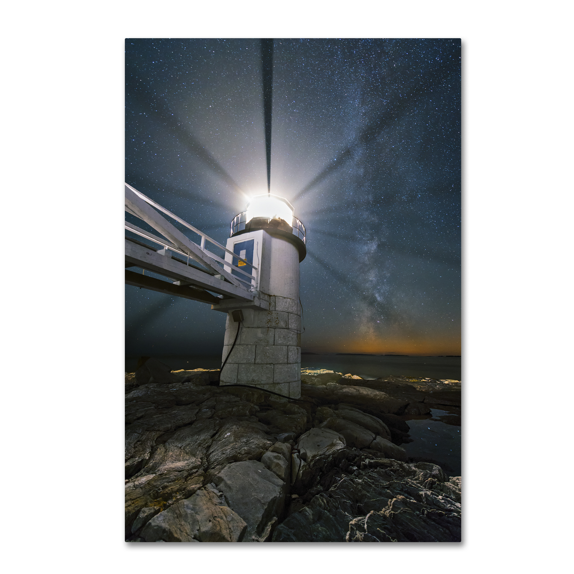 Michael Blanchette Photography 'Light Propeller' Canvas Art 16 x 24