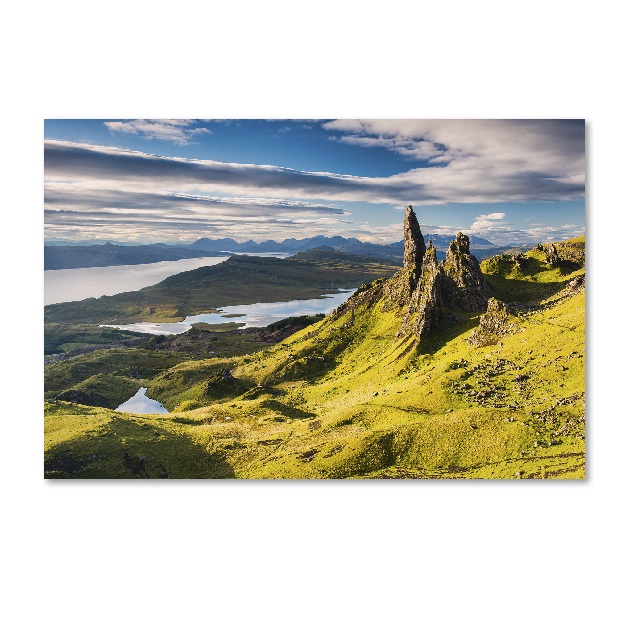 Michael Blanchette Photography 'Light on the Storr' Canvas Art 16 x 24