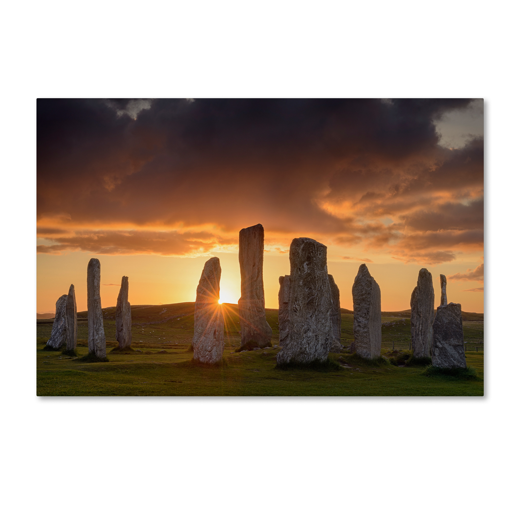 Michael Blanchette Photography 'Light on Callanish' Canvas Art 16 x 24
