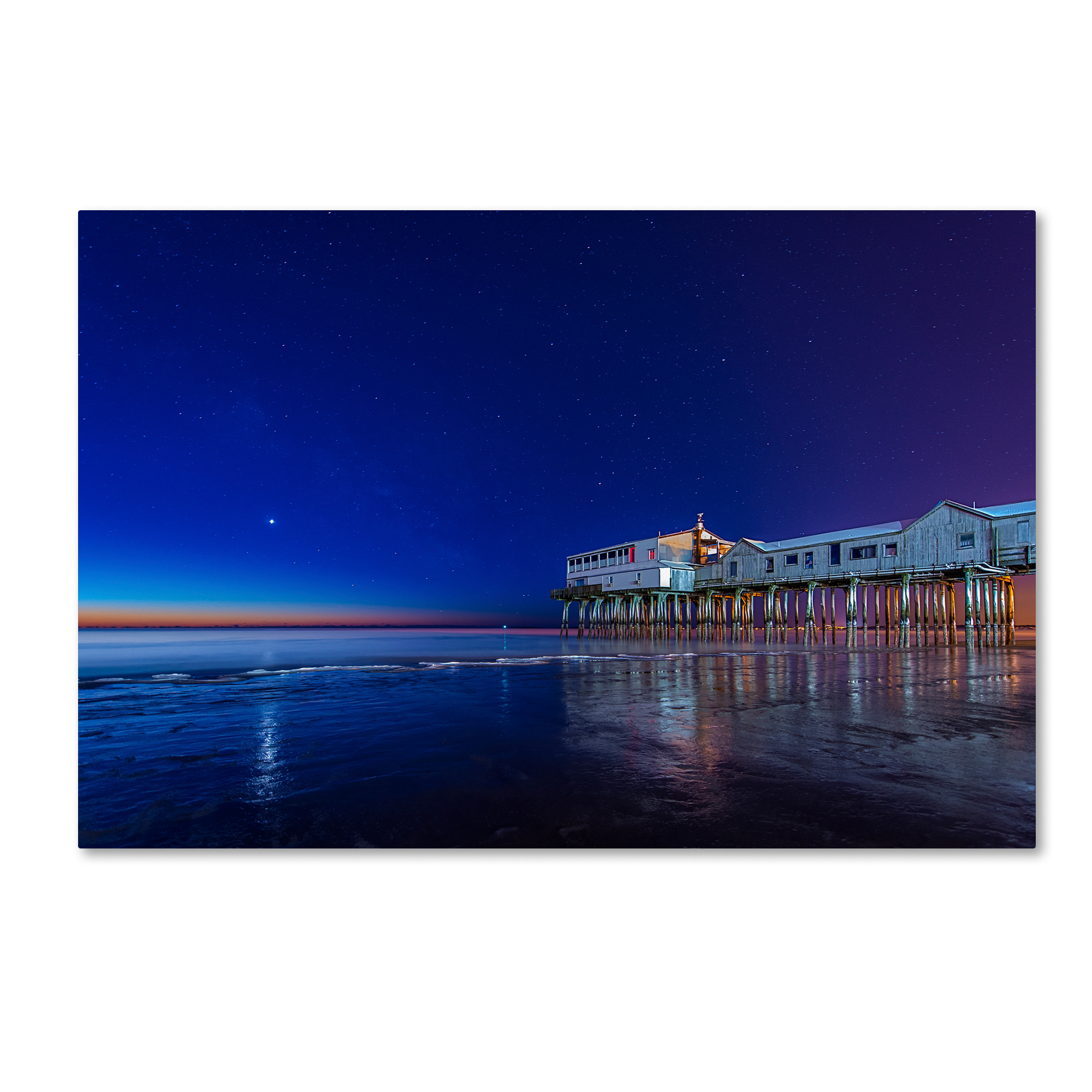 Michael Blanchette Photography 'Lights of Dawn' Canvas Art 16 x 24