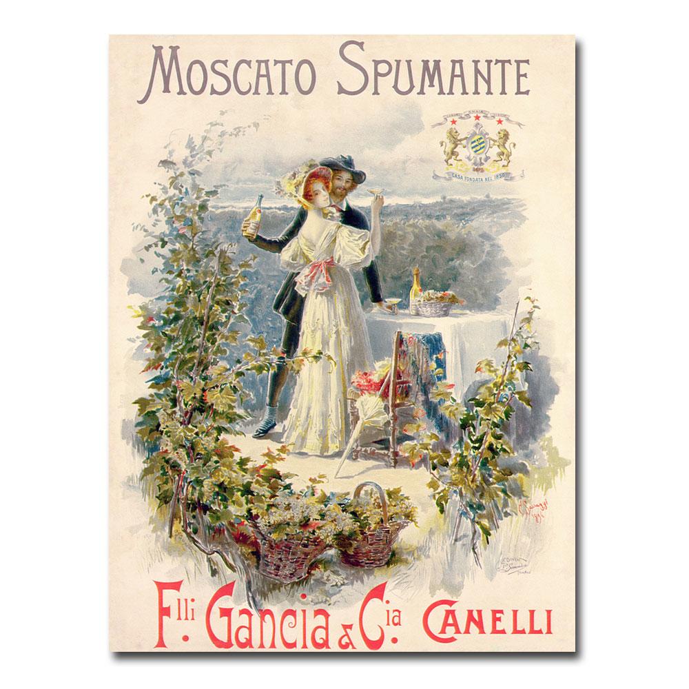 Cesare Saccaggi 'Moscato Spumante' Canvas Art 18 x 24