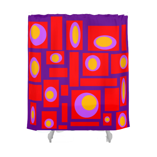 Shower Curtain - Crash Pad Designs Percy