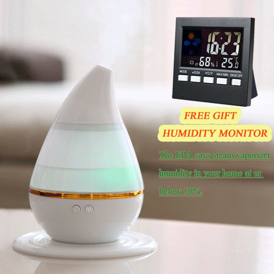 Ultrasonic Aroma Dot Essential Oil Diffuser, Humidifier & Purifier 3 in 1,Free Gift Humidity Monitor 575e20604c3d6fda7a8b4a2f