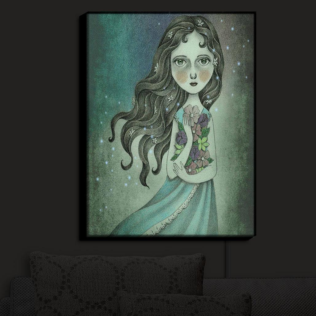 DiaNoche_Designs_Illuminated_Wall_Art_Nightlight_Amalia_Midnight_Godde